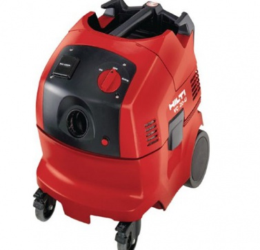 HILTI Wet and Dry Vacuum cleaner 110v. Hire a vacuum cleaner from Jradcliffe Plant Hire in Huddersfield.